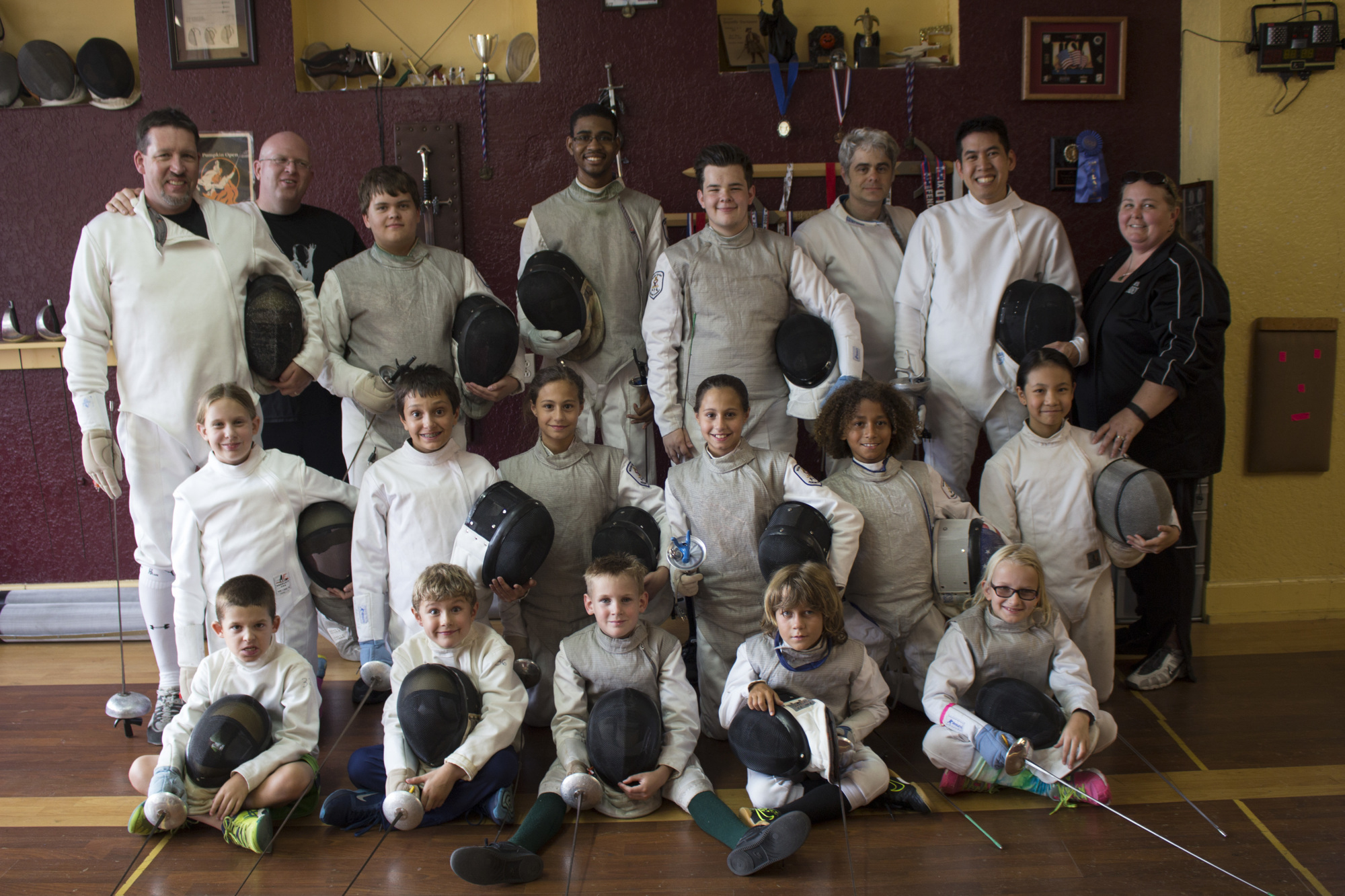 winter garden fencing academy recognized for membership diversity