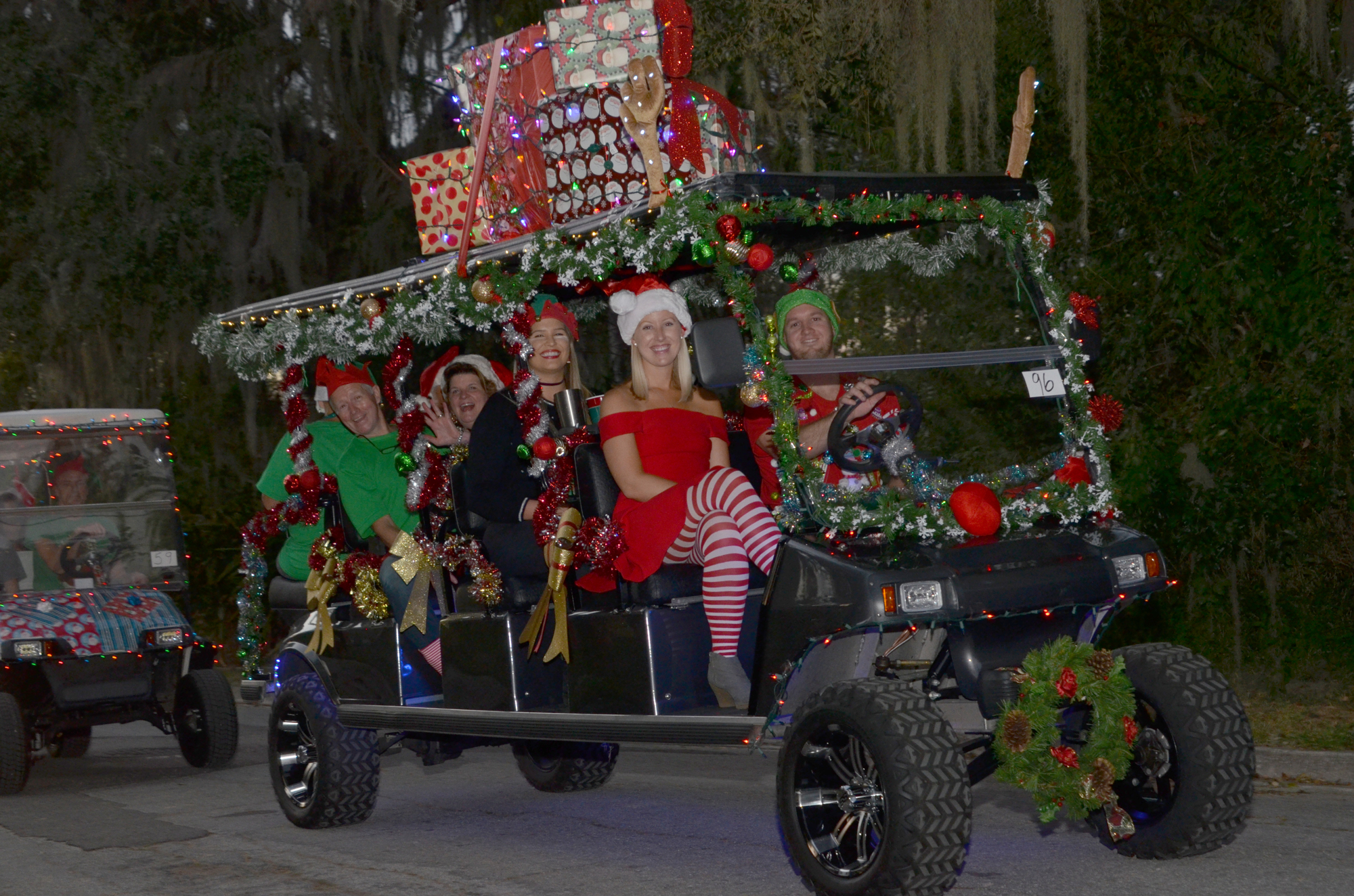 gallery winter garden golf cart parade west orange times