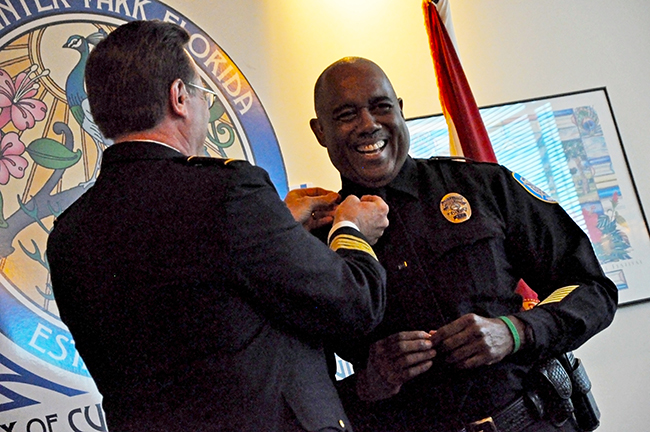 Winter Park Police Department Marks Turnover In Force Winter Park Maitland Observer West