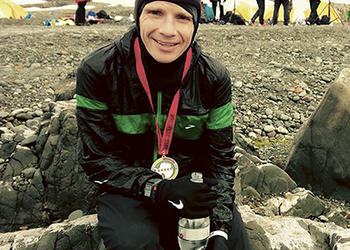 Windermere native, former Olympia teacher sets course record at marathon in Antarctica