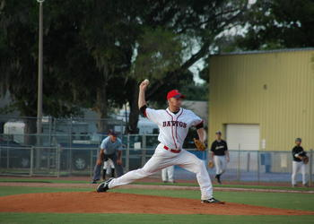 Photo by: Isaac Babcock - Winter Park held Sanford to two hits through six innings, while capitalizing on a grand slam and a pair of rallies. Their one-two punch has kept them league leaders.