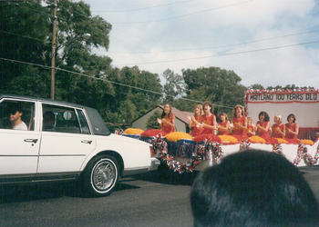 Can you identify any of the participants in this Centennial Parade?