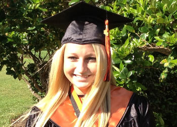 Kelly Martin is one of 13 valedictorians at Winter Park High School.