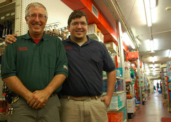 Photo by: Tim Freed - Steve and Clay Miller continue to carry on the family business.