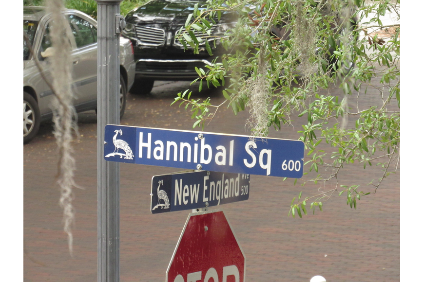 "Hannibal Square and New England Avenue sit at the heart of west Winter Park. Many of Friday's attendees have resided here since the 1940s. Volunteer historians encourage citizens to ""learn history from the people who lived it."""