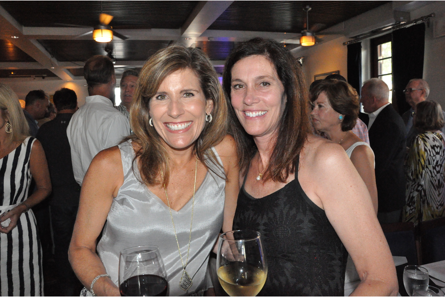 Daryl Place and Weeze Cullen mingled during the Chez Vincent event.