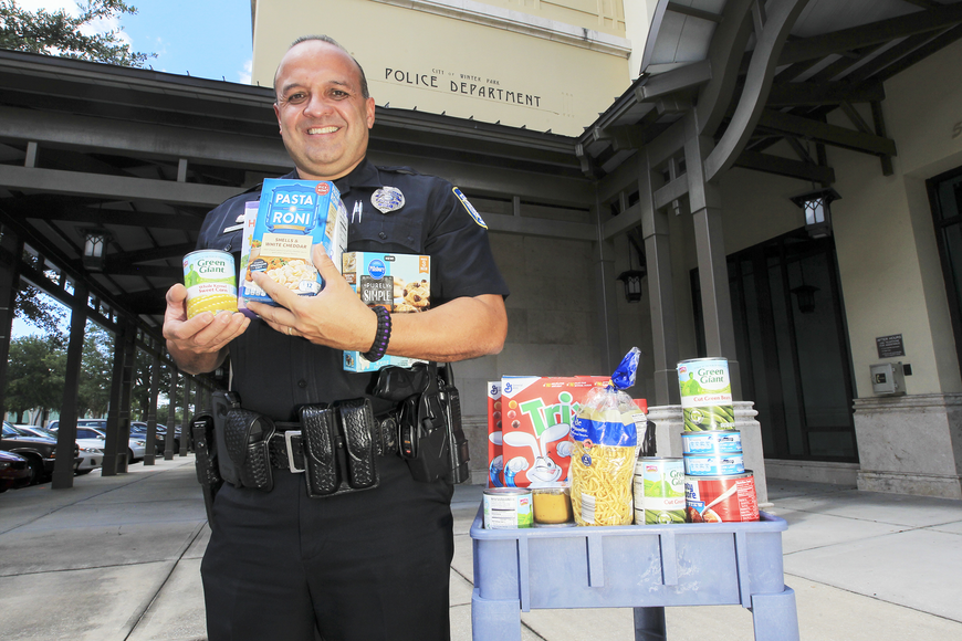 Winter Park Pd Looks To Help Feed Local Seniors Winter Park Maitland Observer West Orange