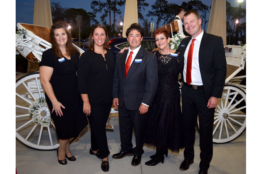 Lynette Casey, Hollie Kemp, Bernie Maldonado, Marcia Turner and Adam Lester had a great time at the gala.
