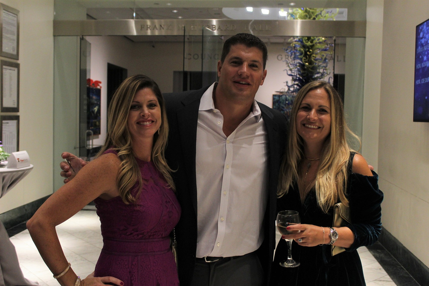 Tracy Gentile, Stuart Robinson and Dana Moody thought the gala was wonderful.