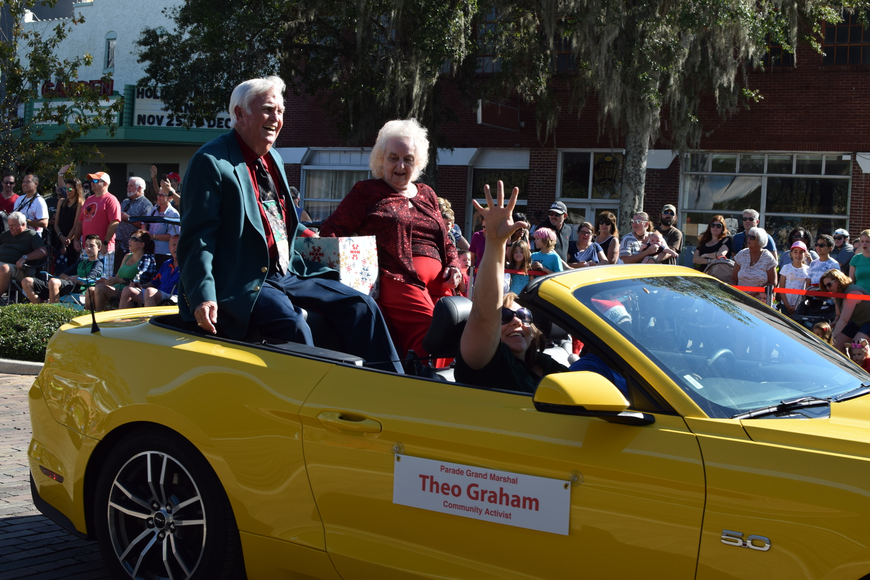 Community activist Theo Graham was named the Grand Marshal of the 2017 Winter Garden Christmas Parade.