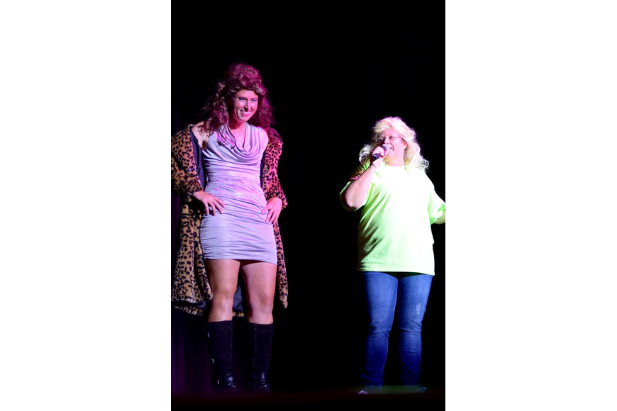 Eileen Hannigan talked to Assistant Principal Sheri Robb about her alter ego, Beyoncé.
