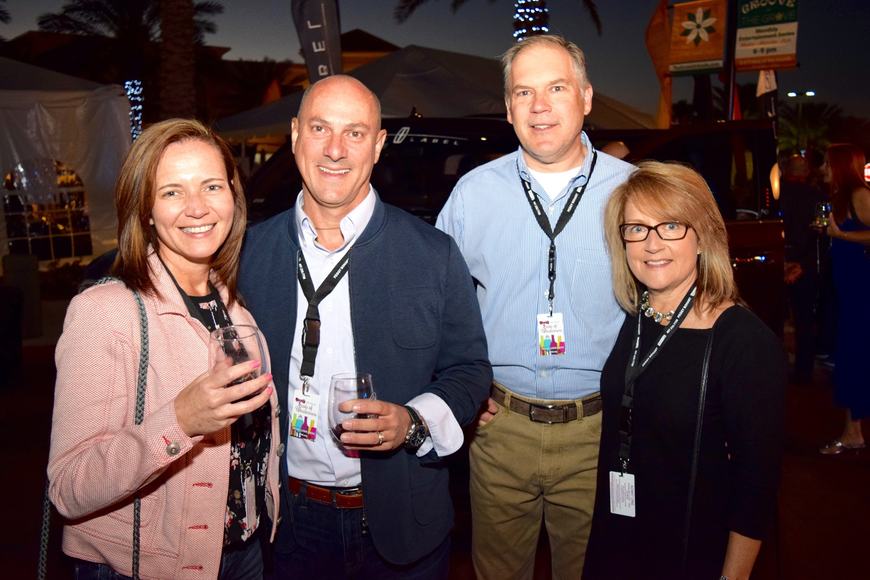 Lori and Robert Gosselin attended the event with friends Greg and Jennifer Barrows.
