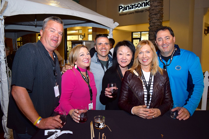 Chris and Leslie Murawski, James and Kuenah Polanco and Ginger and Pete Miranda shared a lot of laughs.