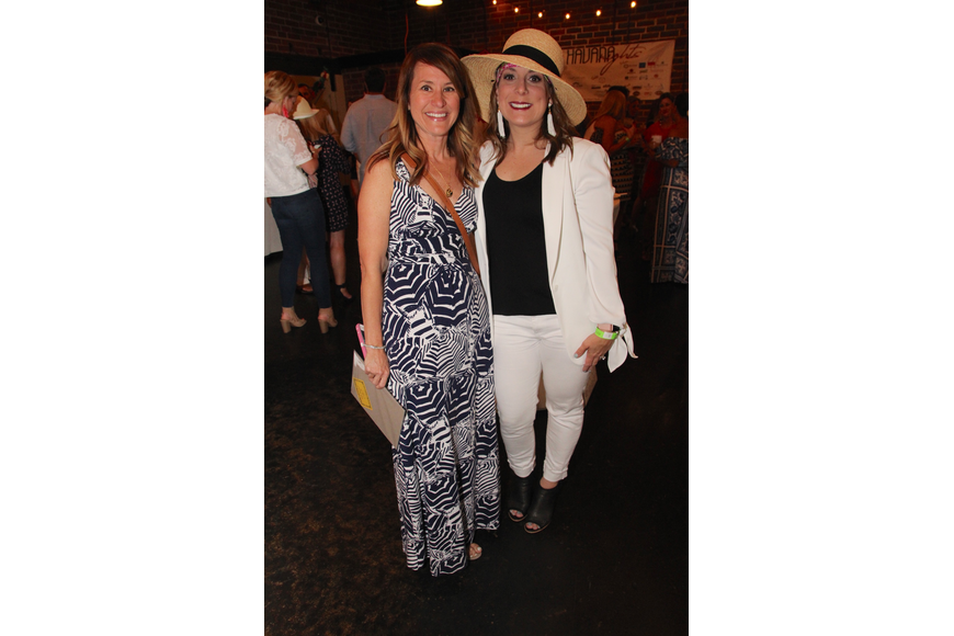 Allison Story and Kelly King turned heads with their outfits.