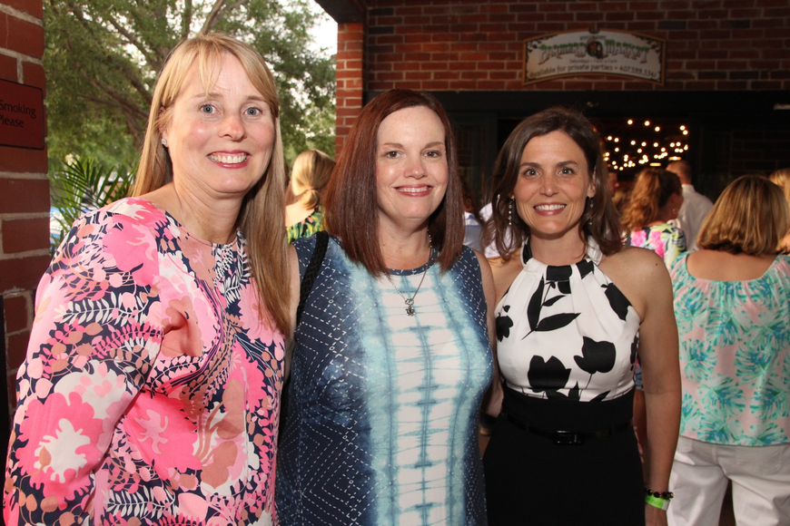 Lisa Rotenburger, Julie Fender and Amy Bishop dressed up nice for the afternoon event.