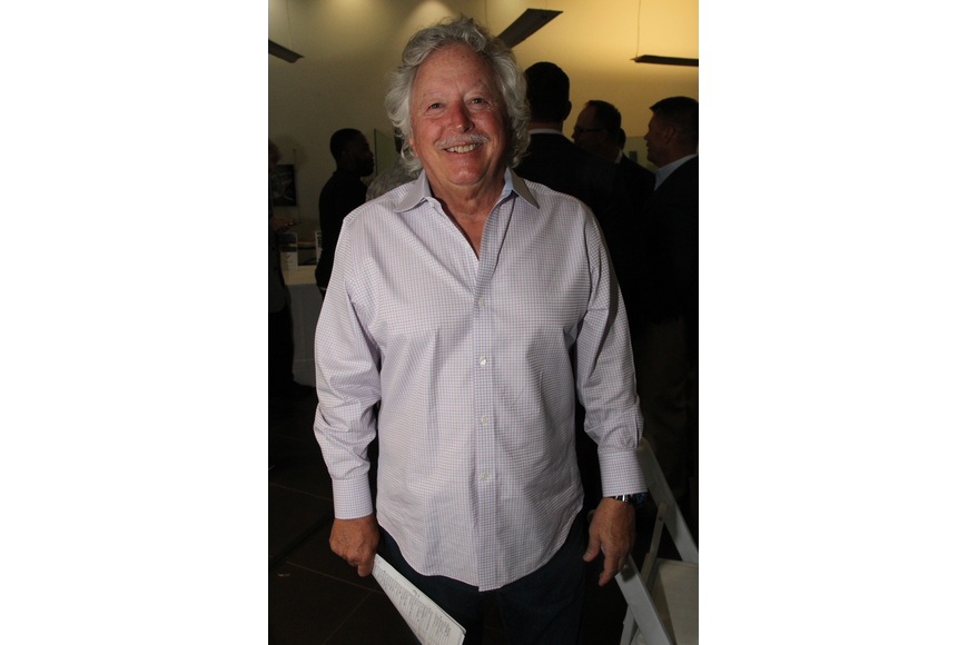 Event chairman Tony Martin was glad to have another successful Art of the Vine event.