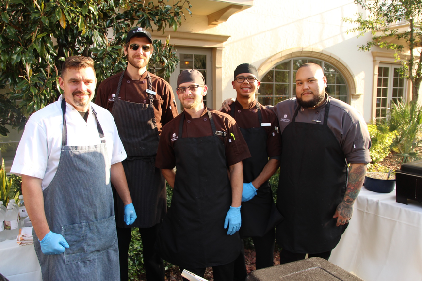 Alfond Inn cooked up some tasty barbecue.