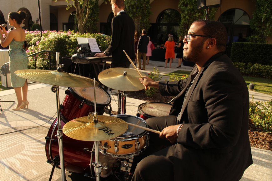 CJ Williams played the drums.