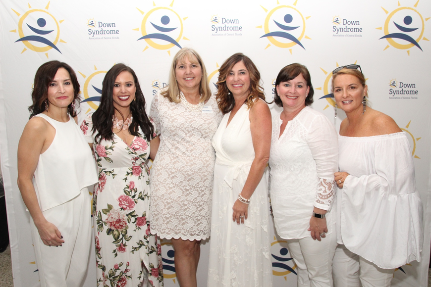The Down Syndrome Association of Central Florida board was thrilled with the party's turnout.