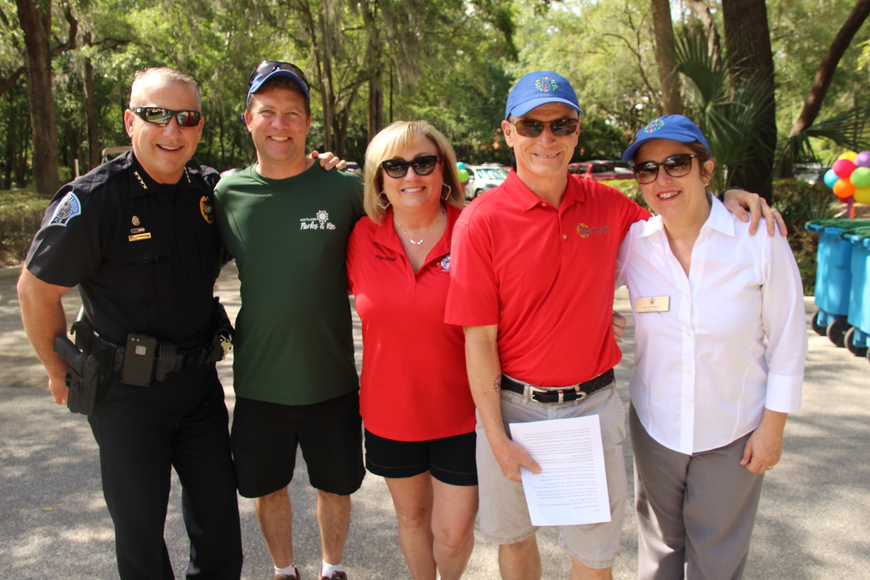 Maitland officials worked hard for a successful event.