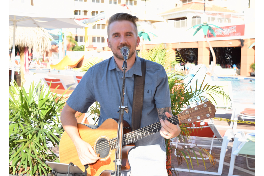 Mitch Herman, with Brocato Entertainment, provided the live music.