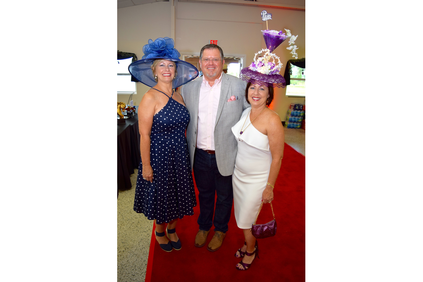 Jackie Ann, Brad Hester and Karen Roper walked the red carpet, with Roper representing Pilars Martini.