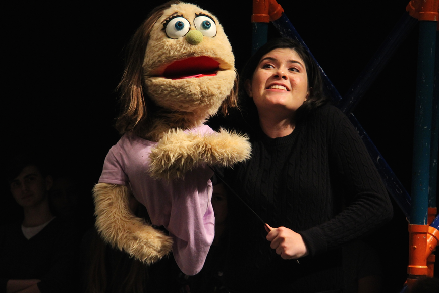 Rebecca Pannell portrayed the character Kate Monster.