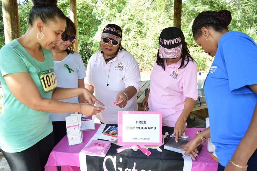 The Orlando chapter of Sisters Network offered information about free mammograms.