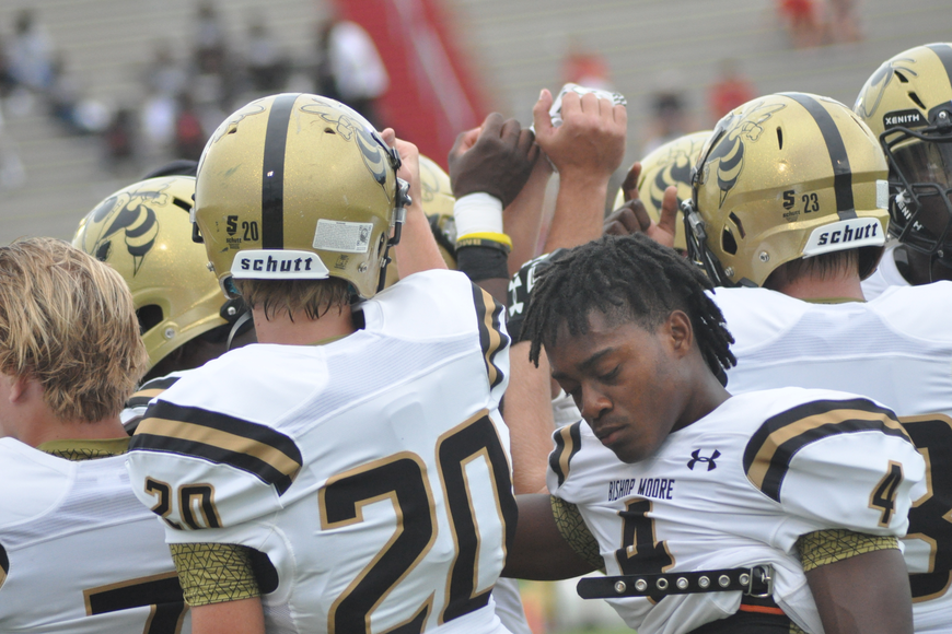 Bishop Moore was ready for a tough showdown against Edgewater.