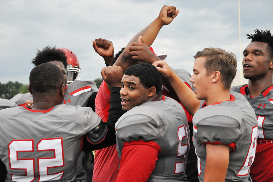 The Edgewater Eagles were ready to defend their home turf against a crosstown rival.