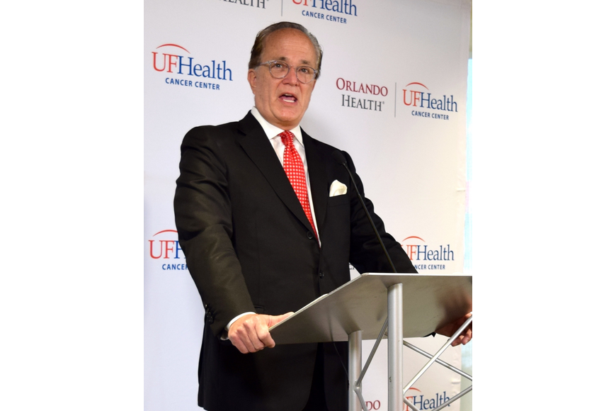 Dr. Mark Roh, president of Orlando Health's UF Health Cancer Center, said the old cancer center reached its five-year capacity in just two years.