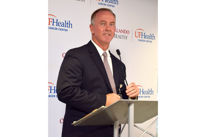 Health Central President Mark Marsh was thrilled that the cancer center is now open.