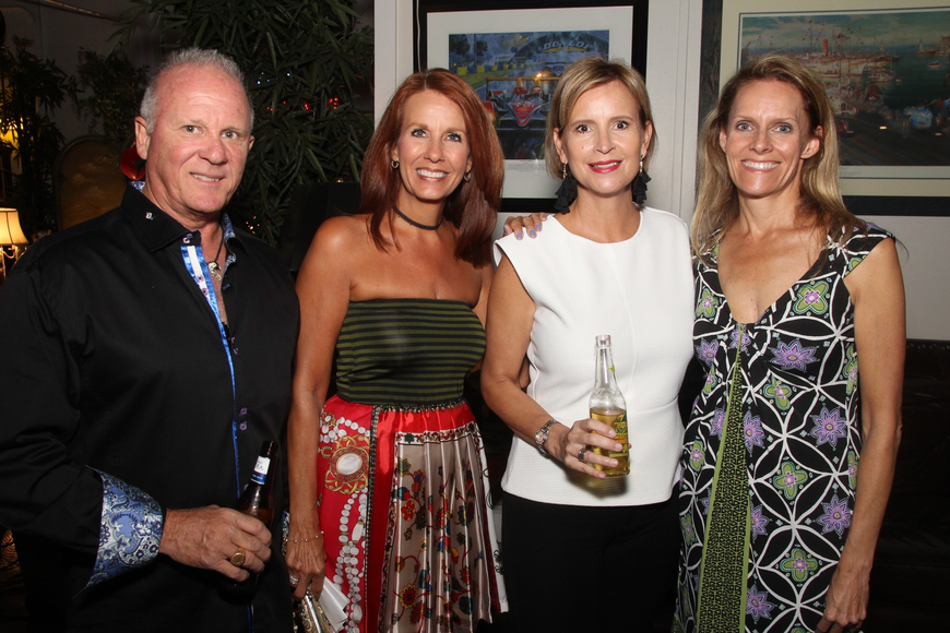 Robert and Kim Orsolits, Christy Clelland, Tara Hormell