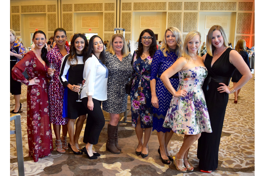 Talia Wehrly, Subadra Gutti, Sima Patel, Julie Fernandez, Cindee Travis, Keshini Parbhu, Kim Byerly, Tiffany Debnath and Amy Stinson
