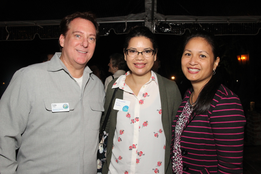 Winter Park Assistant Director of Communications Craig O'Neal, Orange County commissioner Emily Bonilla, Communications Director Clarissa Howard