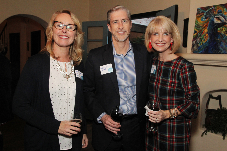 Bach Festival Society executive director Betsy Gwinn, Derrick and Winter Park Chamber of Commerce Director of Events & Sponsorships Stacey Cox