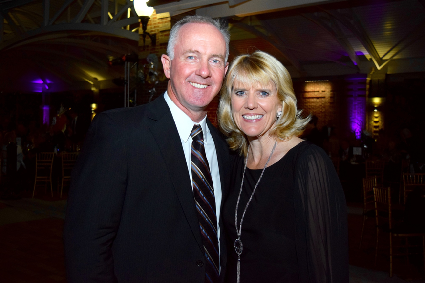 Health Central Hospital President Mark Marsh and wife Julie