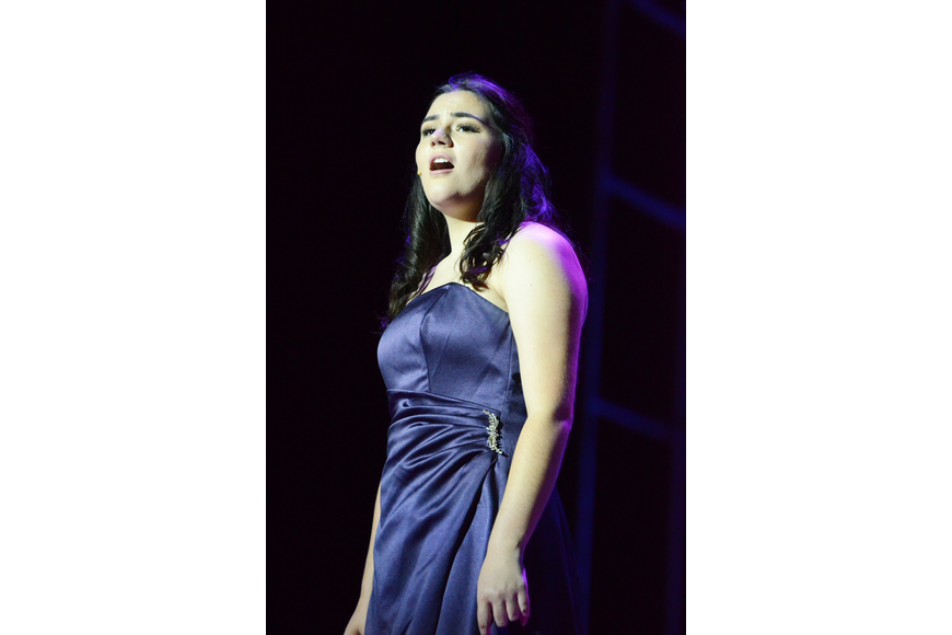 "Danielle Allison sang ""Once Upon a Dream"" for the audience."