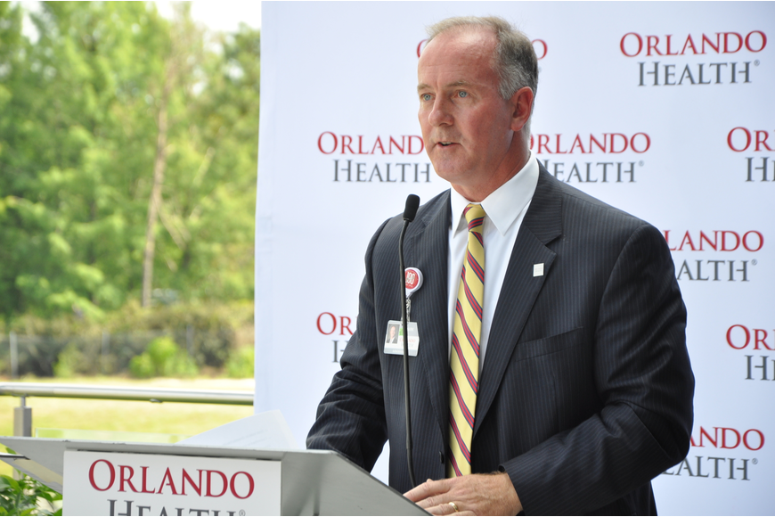 Orlando Health – Health Central Hospital President Mark Marsh thanked everyone who made the project possible.