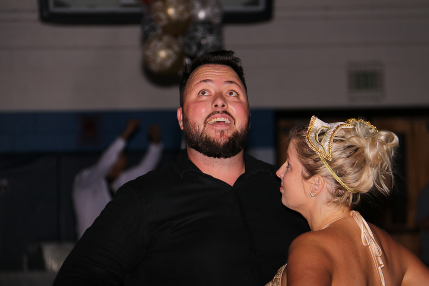 Noah and Lizzy Treadway enjoyed themselves on the dance floor.