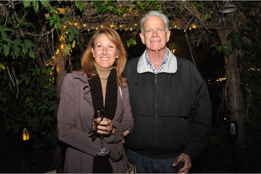 Terri and David White supported Do Good Farms at the event.