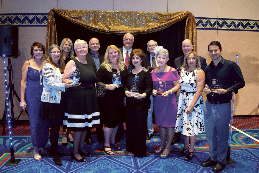 Flapper dresses, pearls and feathers filled the ballroom as the West Orange Chamber of Commerce kicked off the roaring 2020s with the annual Big Orange Awards Friday, Jan. 31, at Disney's Coronado Springs Resort. Published Feb. 6.