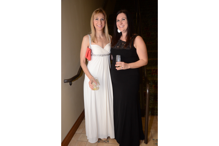 Jenn Warren and Erica Diaz dressed their best for the gala.