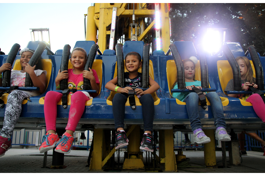 Attendees enjoyed plenty of thrills on the many rides available at this year's Southwest Fall Fest.