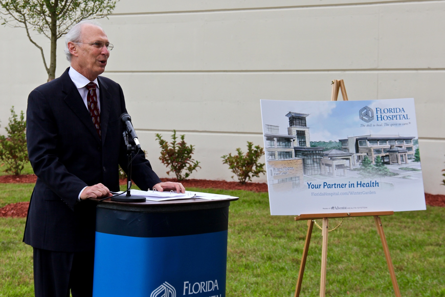 "Winter Garden Mayor John Rees said that so far the Florida Hospital Winter Garden has been a ""great addition to the local community."""