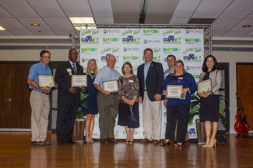 Photo by: Sarah Wilson - Businesses that have been with the Winter Park Chamber for 40-49 years.