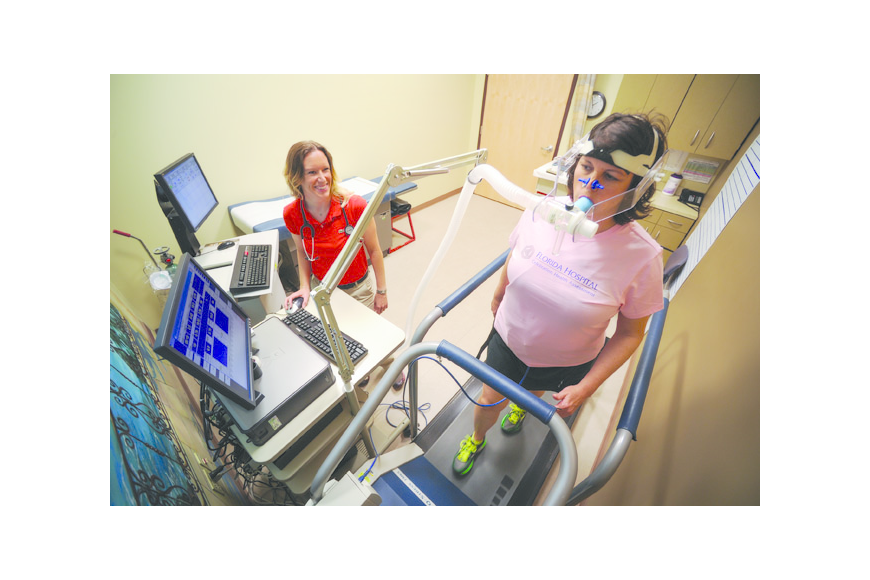 Photo by: FLORIDA HOSPITAL FOR WOMEN - High-tech testing can reveal secrets hidden in a patient's genes, thanks to genomic sequencing at the Winter Park Health Assessment Program, offered by Florida Hospital for Women. The program also offers fitness ...