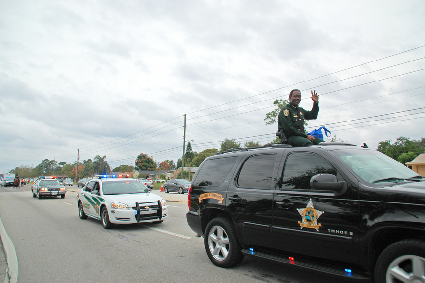 Photo by: Isaac Babcock - Orange County Sheriff Jerry Demings at the Goldenrod Parade.