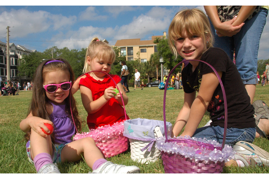 Photo by: Isaac Babcock - The city of Winter Park's 57th Annual Easter Egg Hunt was Saturday, April 23, in Central Park.