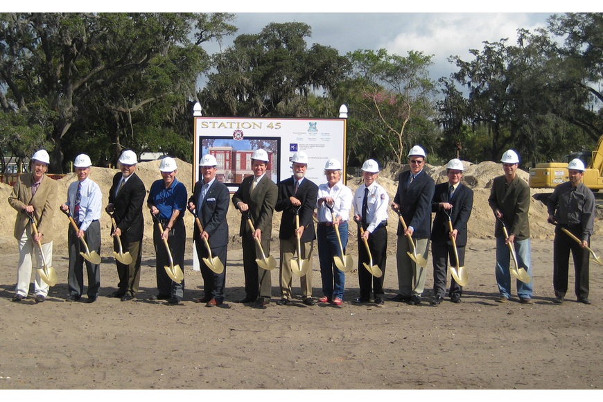 Photo courtesy of city of Maitland - The city broke ground on its new fire station last week.